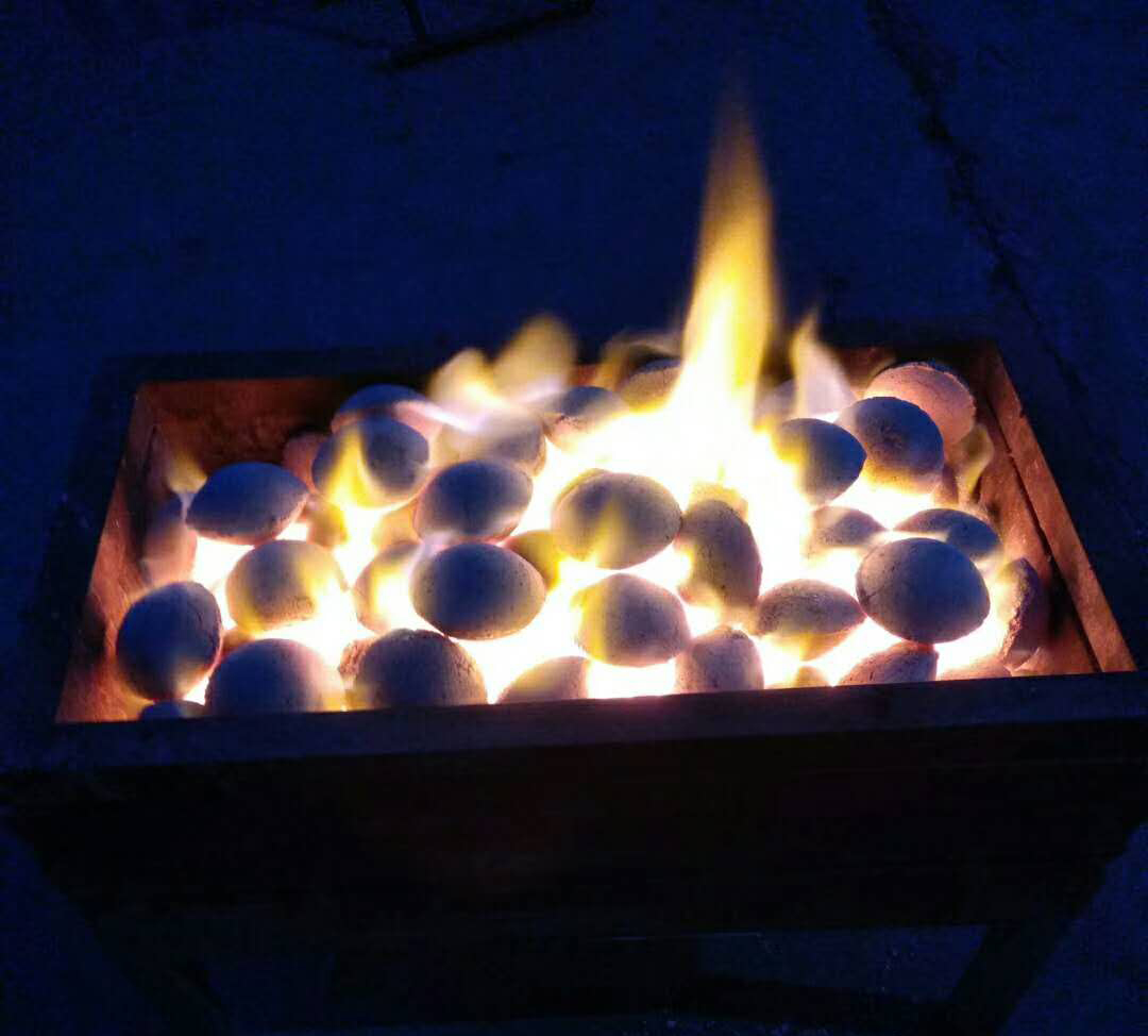 能量烧烤炭